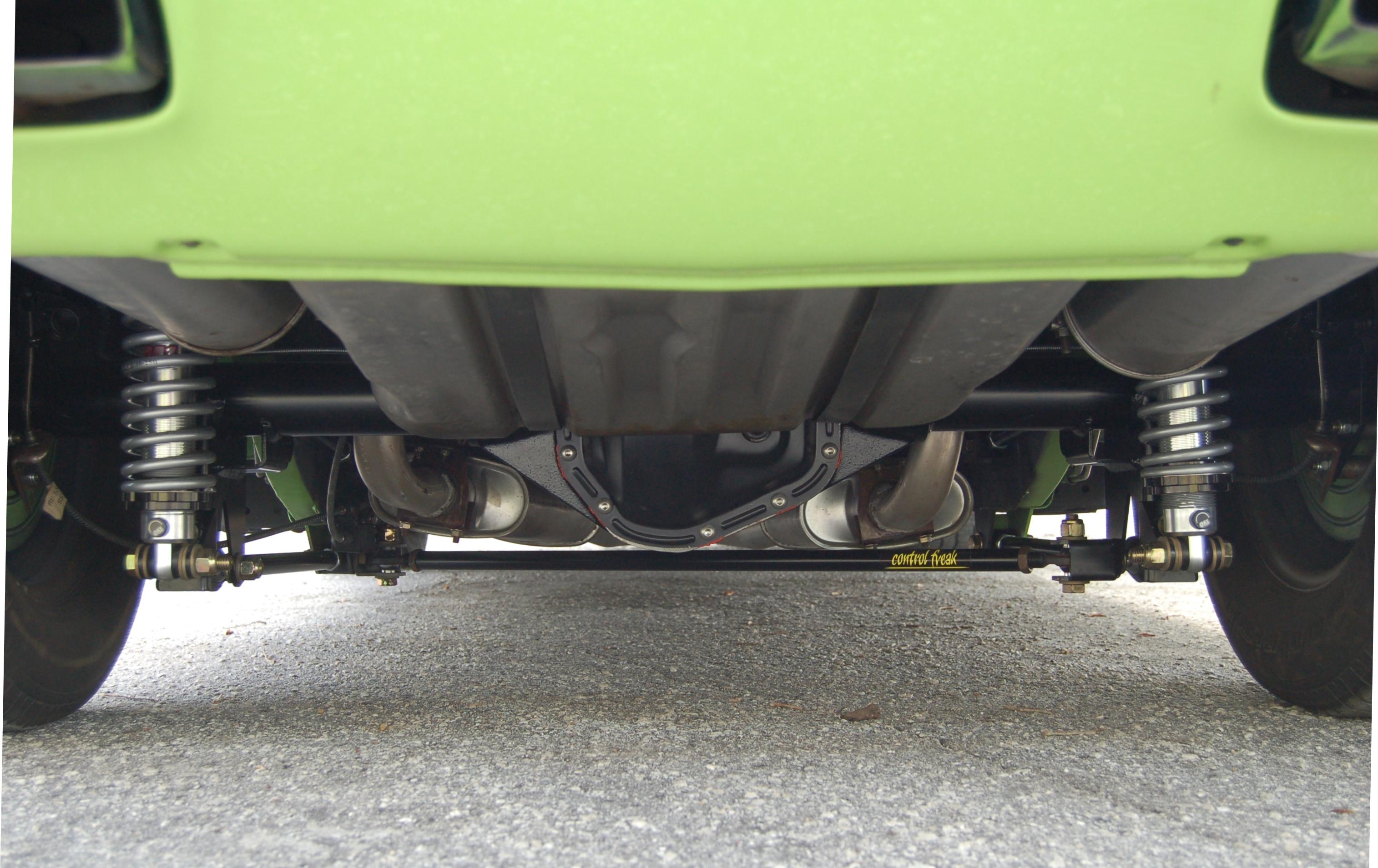 4 Link Mopar Coil Over Rear Suspension Systems Control