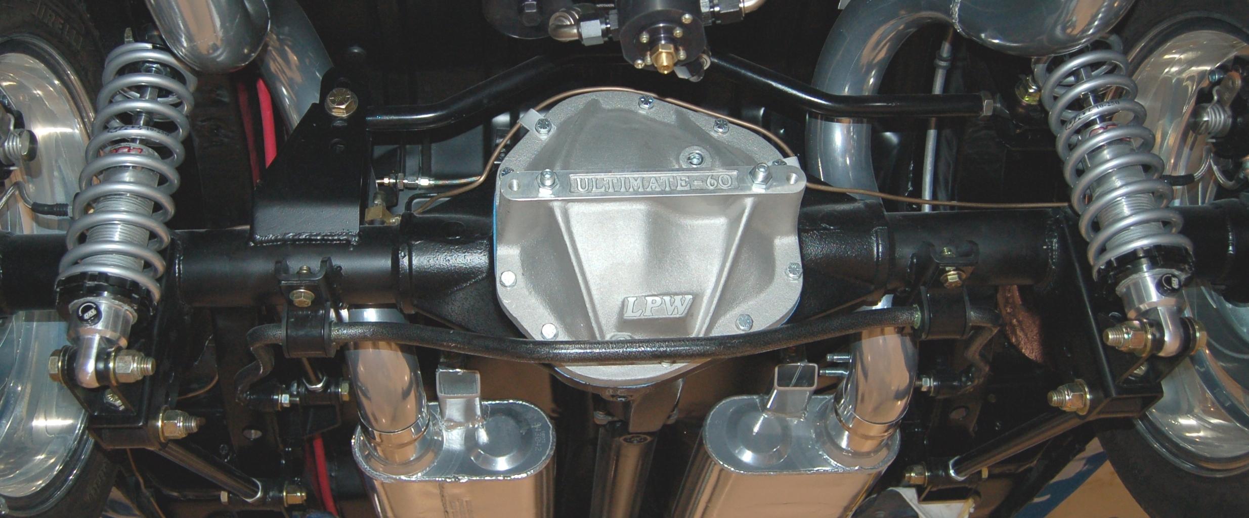 4-Link MOPAR Coil-Over Rear Suspension Systems | Control Freak