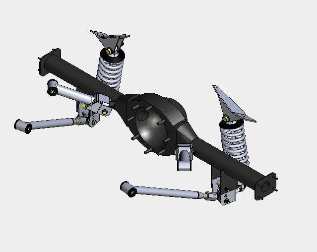 4 Link Gm Coil Over Rear Suspension Systems