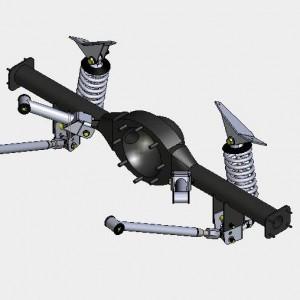 4-link coil over rear suspension kit for GM
